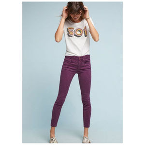 Anthropologie Pilcro High Rise Skinny Jeans 31